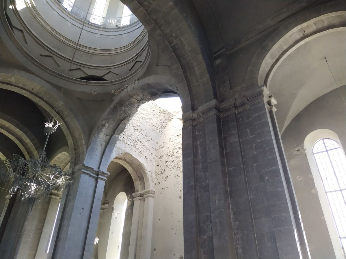 Tuhottu katedraali