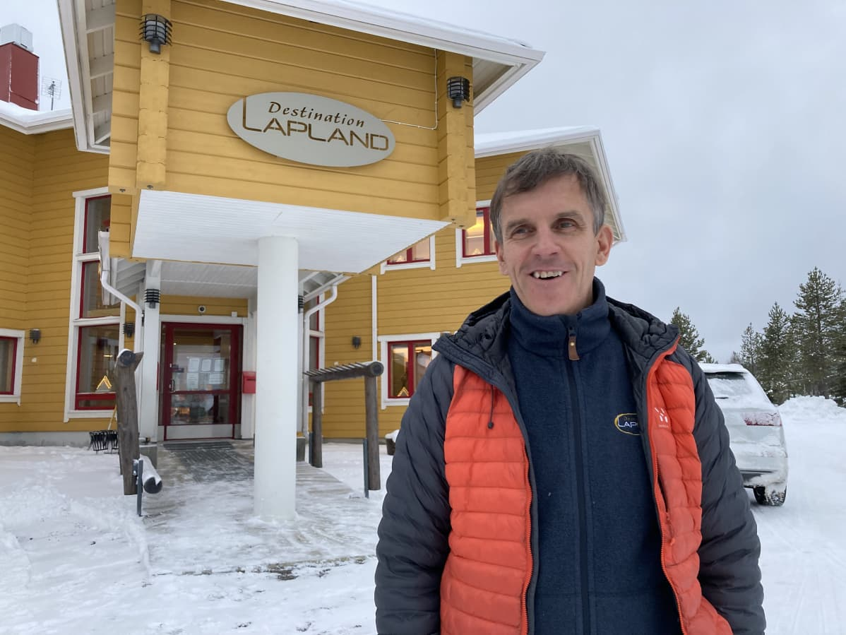 Destination Lapland toimitusjohtaja Mauri Kuru.
