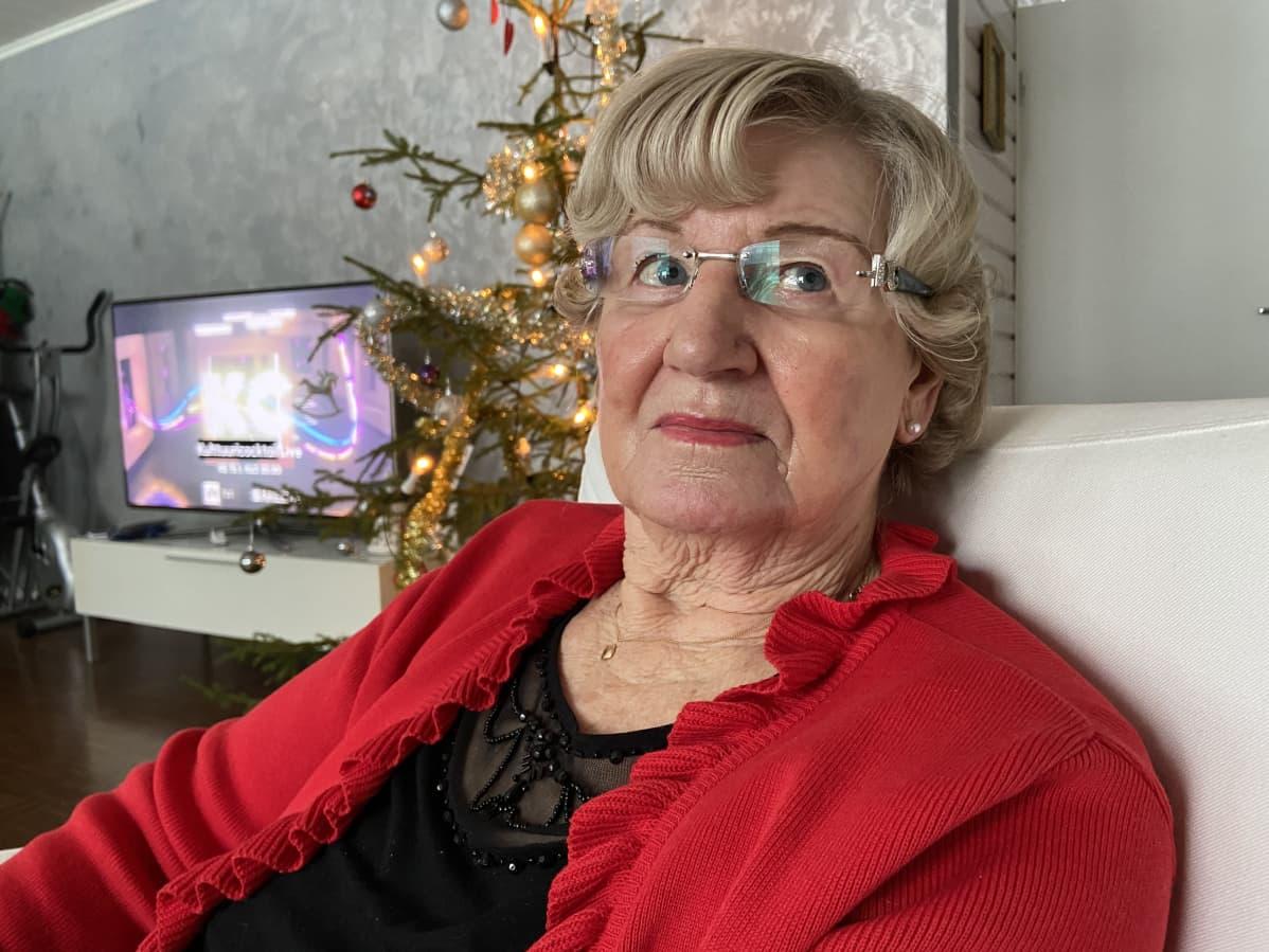 Maire Kääriäinen selvisi koronasta lähes oireetta.