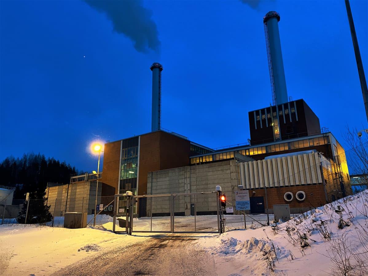 Lielahden voimalaitos Tampereella.