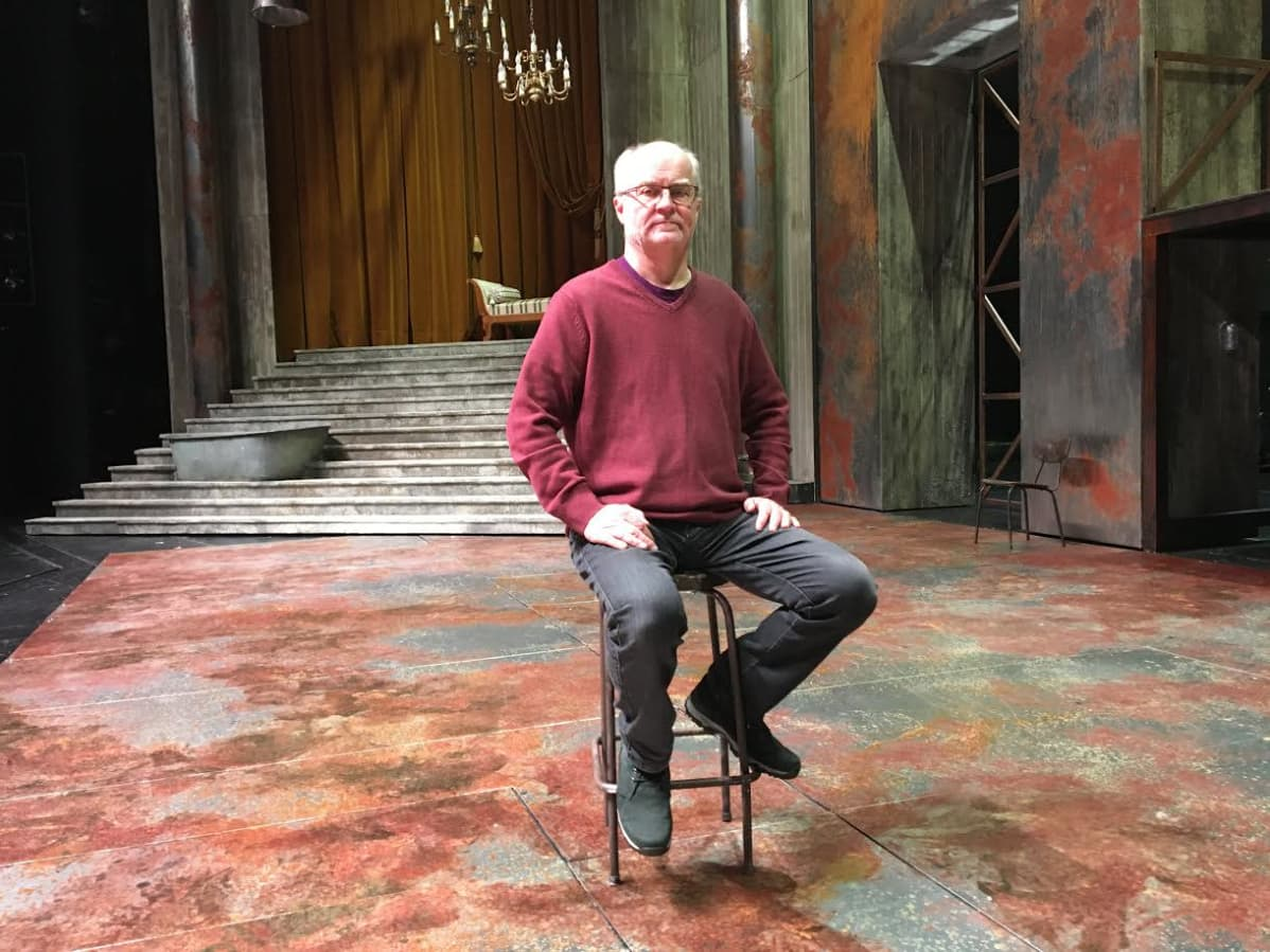 Teatterinjohtaja Ilkka Laasonen