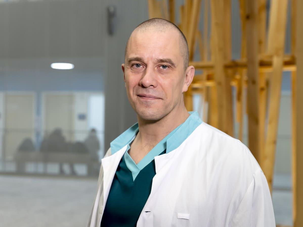 Gastrokirurgi Ville Väyrynen, Keski-Suomen keskussairaala.