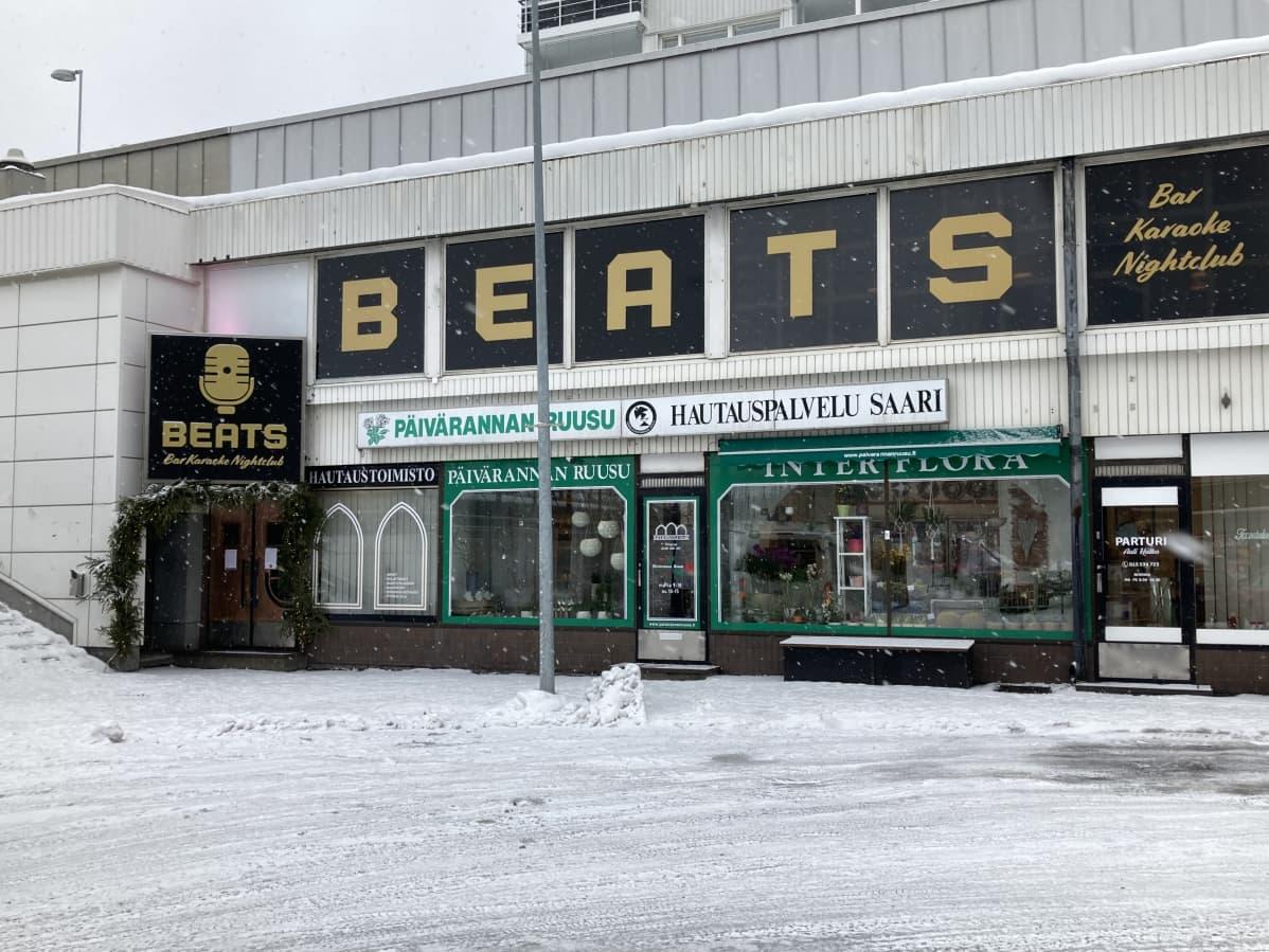 Beats Nightclub ravintola Savonlinnan keskustassa