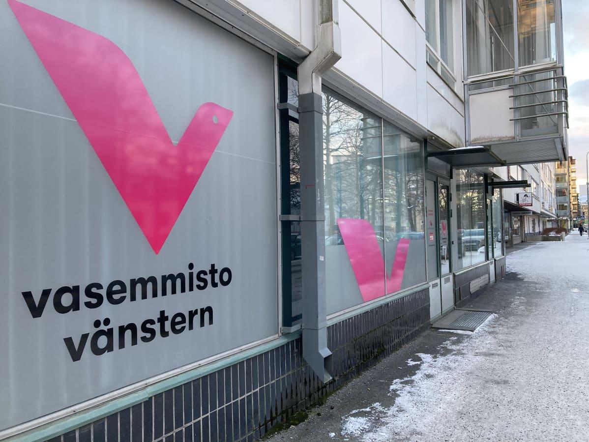 Vsemmistoliiton toimisto Porissa.