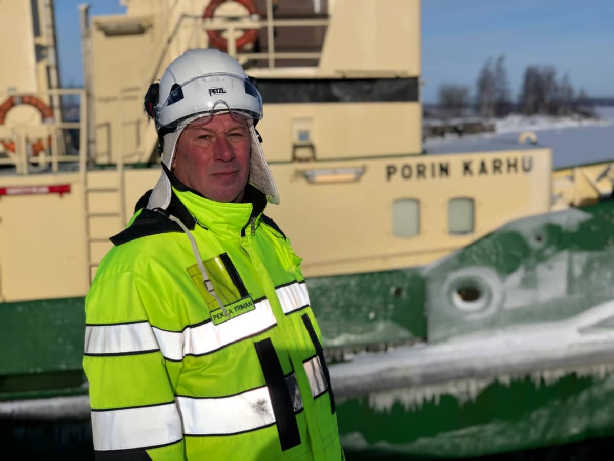 Porin sataman turvapäällikkö Pekka Friman