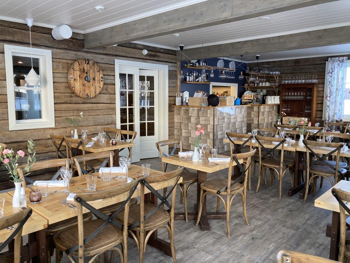 Aurora Estaten ravintola Ylläsjärvellä