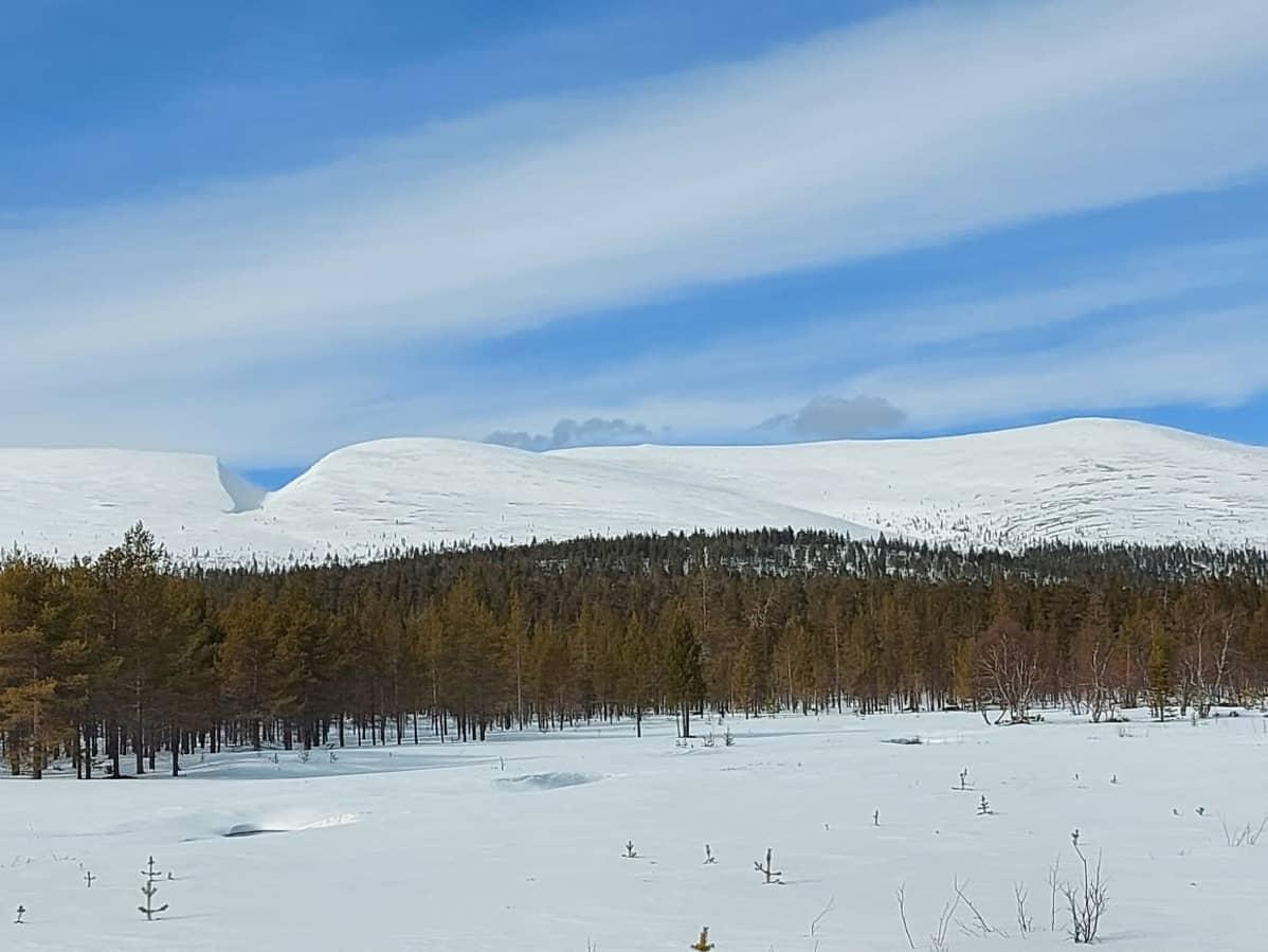 Pirunportti Urho Kekkosen kansallispuistossa