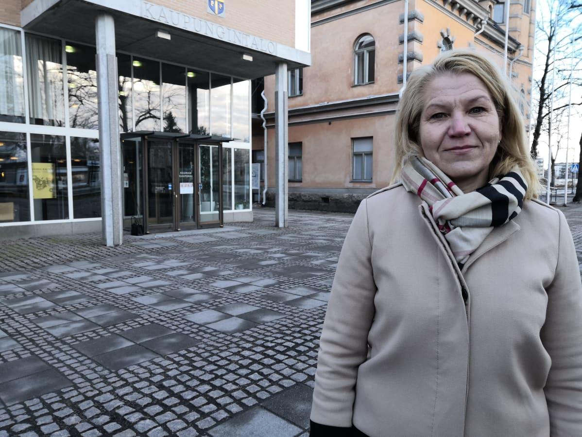 Kaupunginjohtaja Johanna Luukkonen
