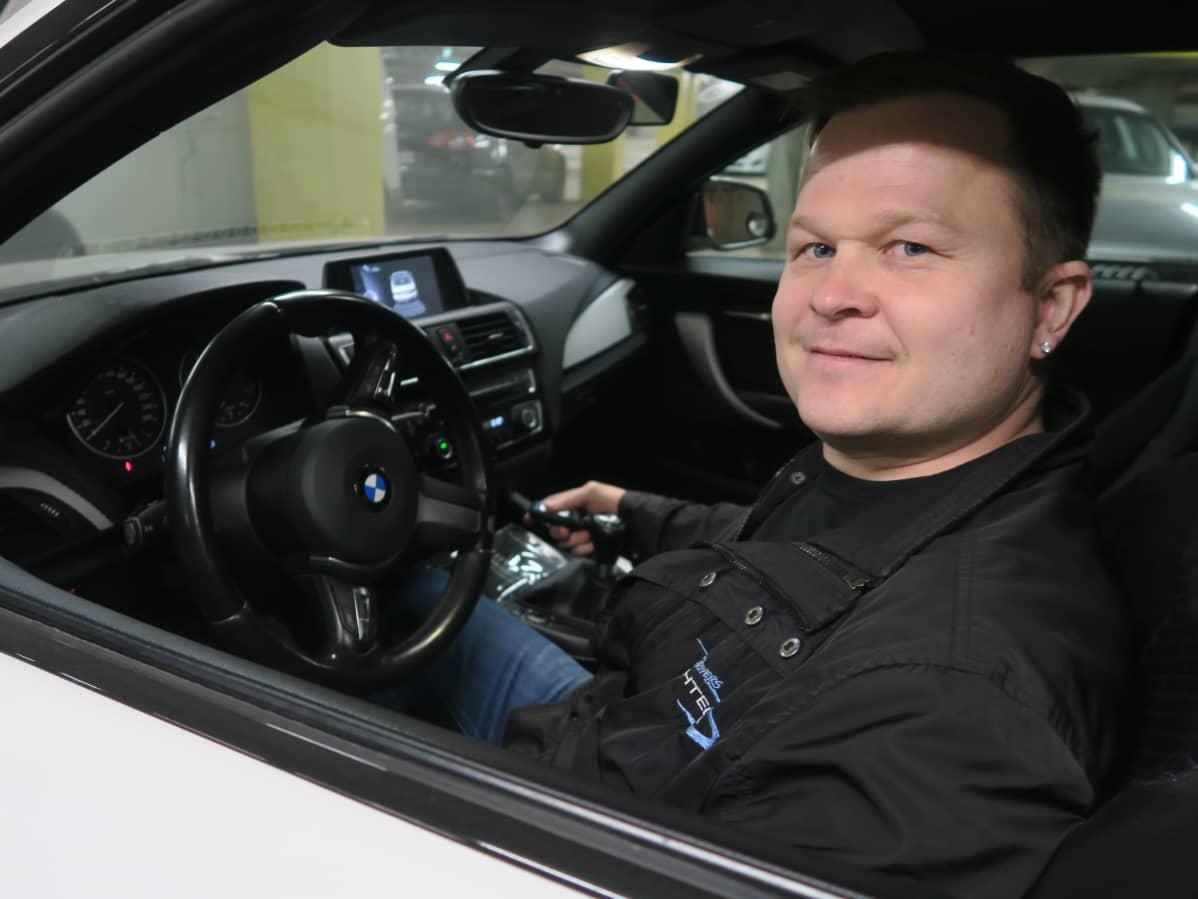 Autokoulu Lehtelän omistaja Jani Salo