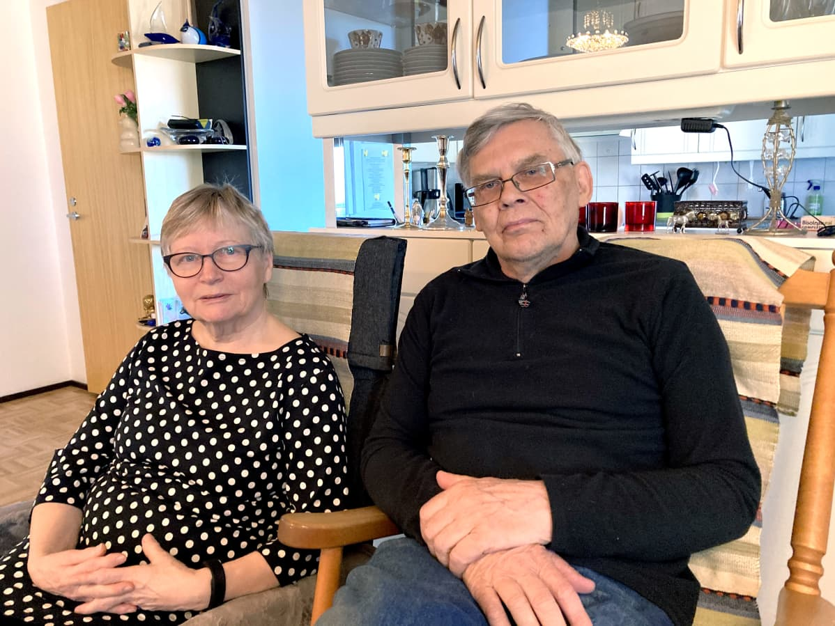 Pirkko Valkonen ja Jyrki Heikkinen