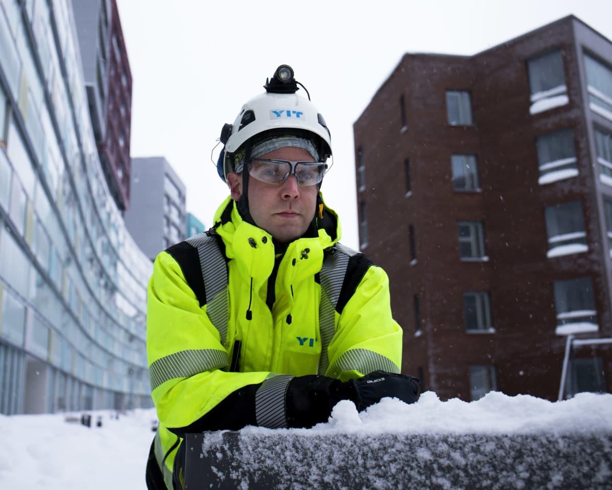Heikki Sirén, vastaava työnjohtaja, YIT