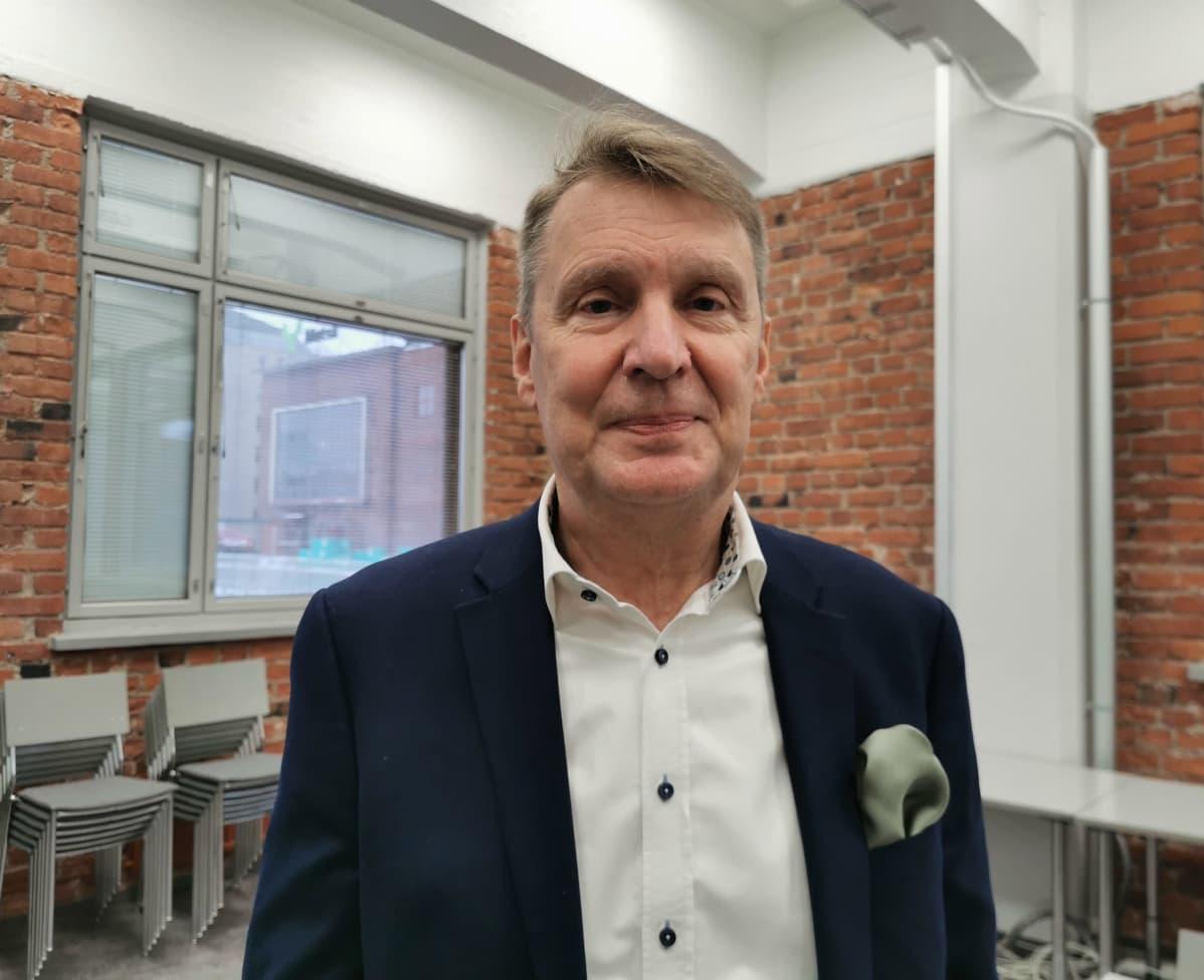 Pirkanmaan Yrittäjien toimitusjohtaja Pasi Mäkinen