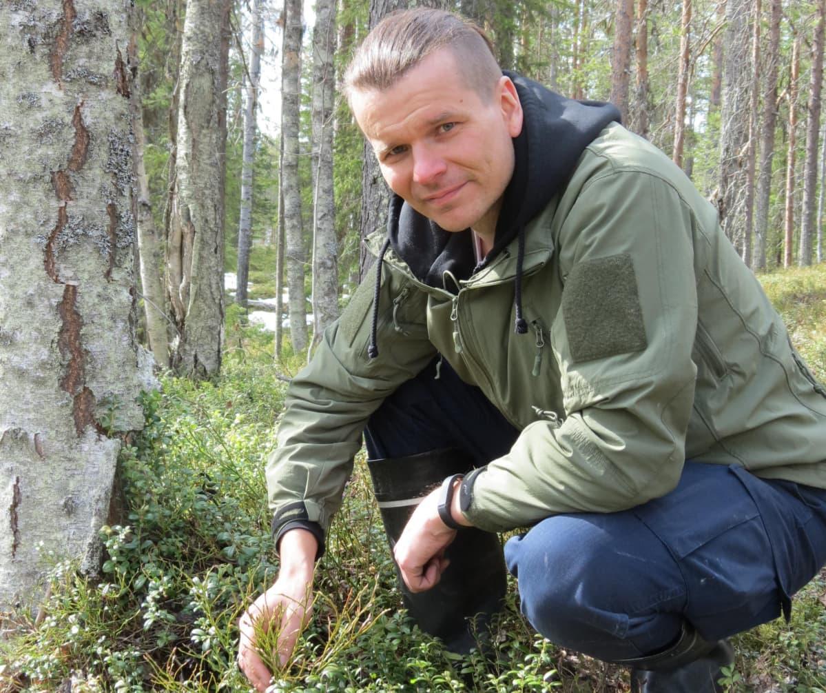 Erikoistutkija Rainer Peltola Luonnonvarakeskus