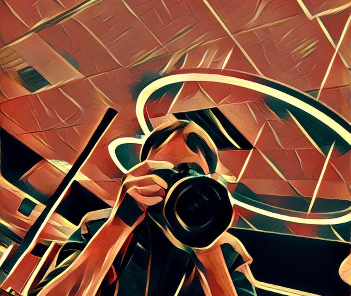 Prisma-sovelluksella otettu kuva.