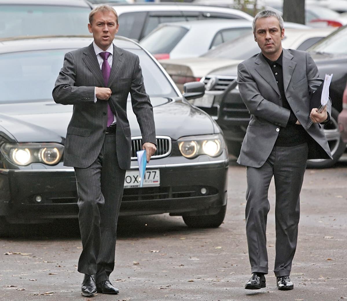 Andrei Lugovoi ja Dmitri Kovtun.