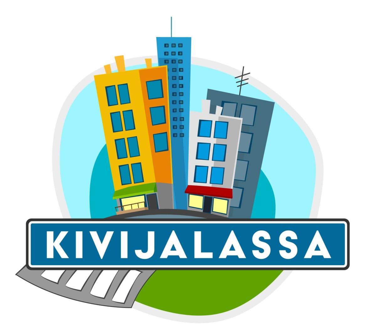 Kivijalassa -logo