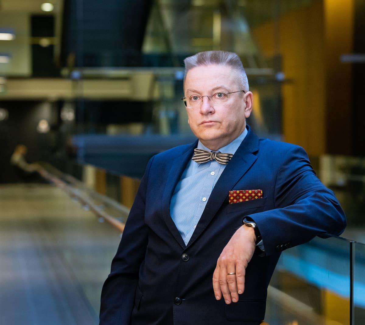Markku Fredman Helsingin oikeustalolla
