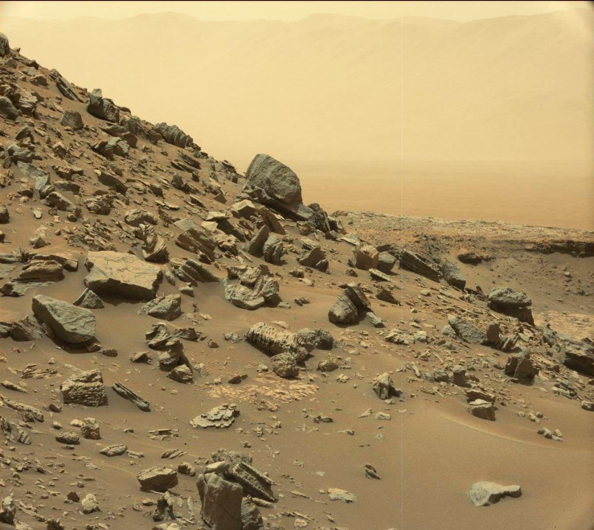 Nasan välittämä kuva Marsin pinnasta.