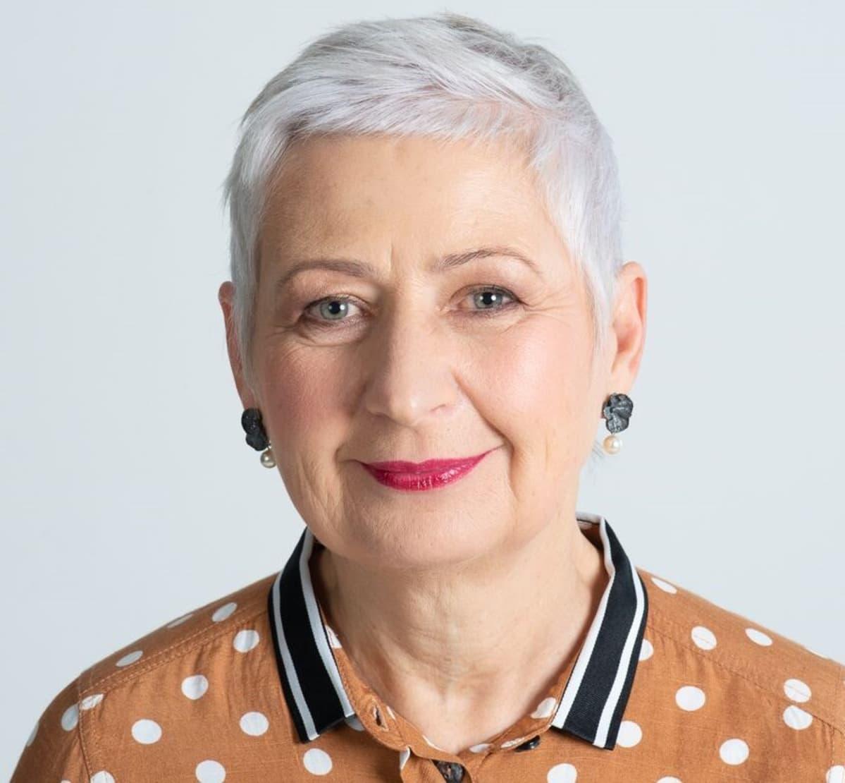 Margo Orupõld on Pärnun naisten turvakodin johtaja.