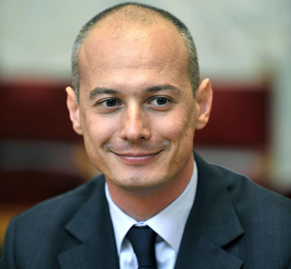 Bogdan Olteanu. Kuva on vuodelta 2008.
