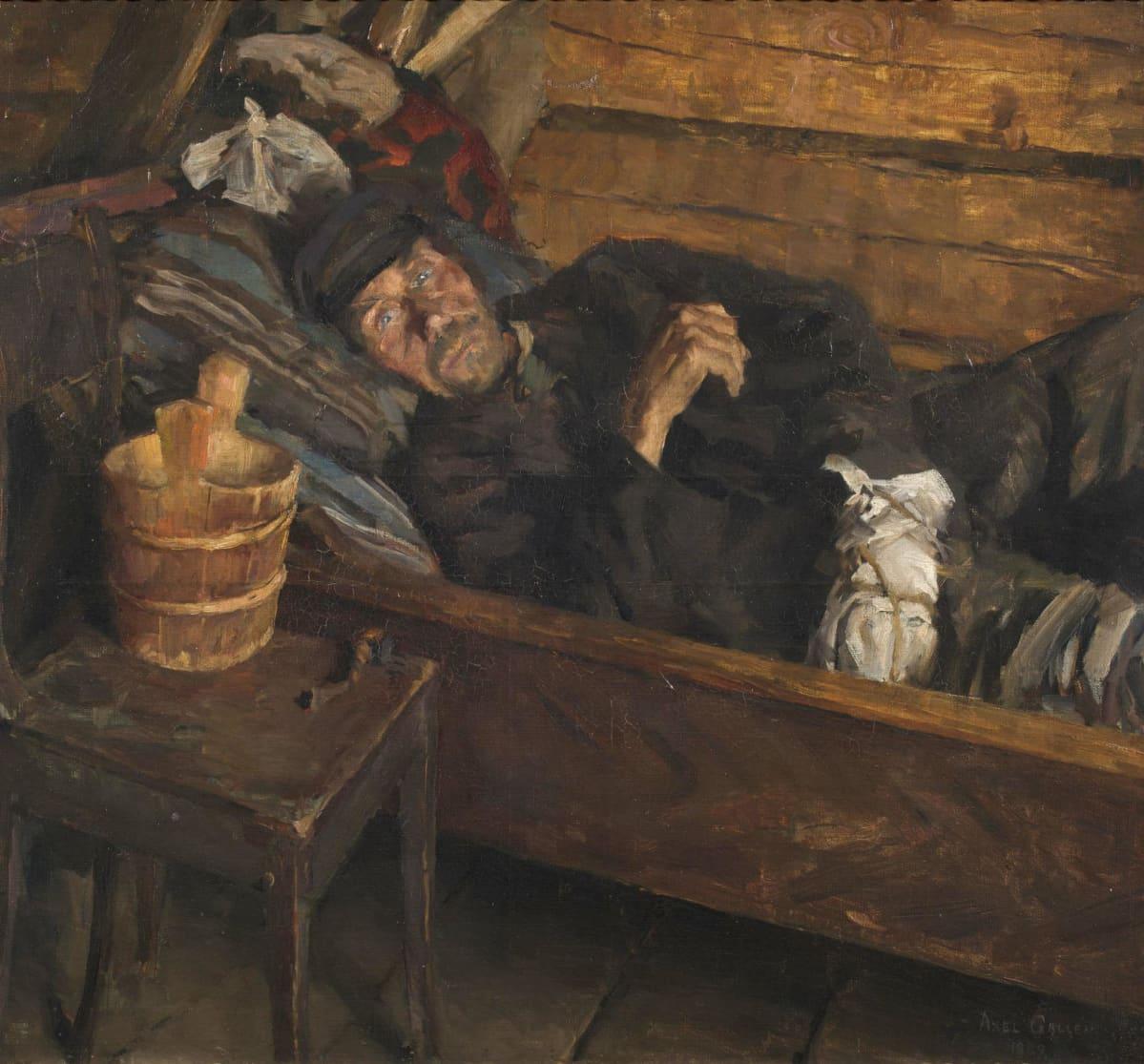 Akseli Gallen-Kallela Haavakuume, 1889