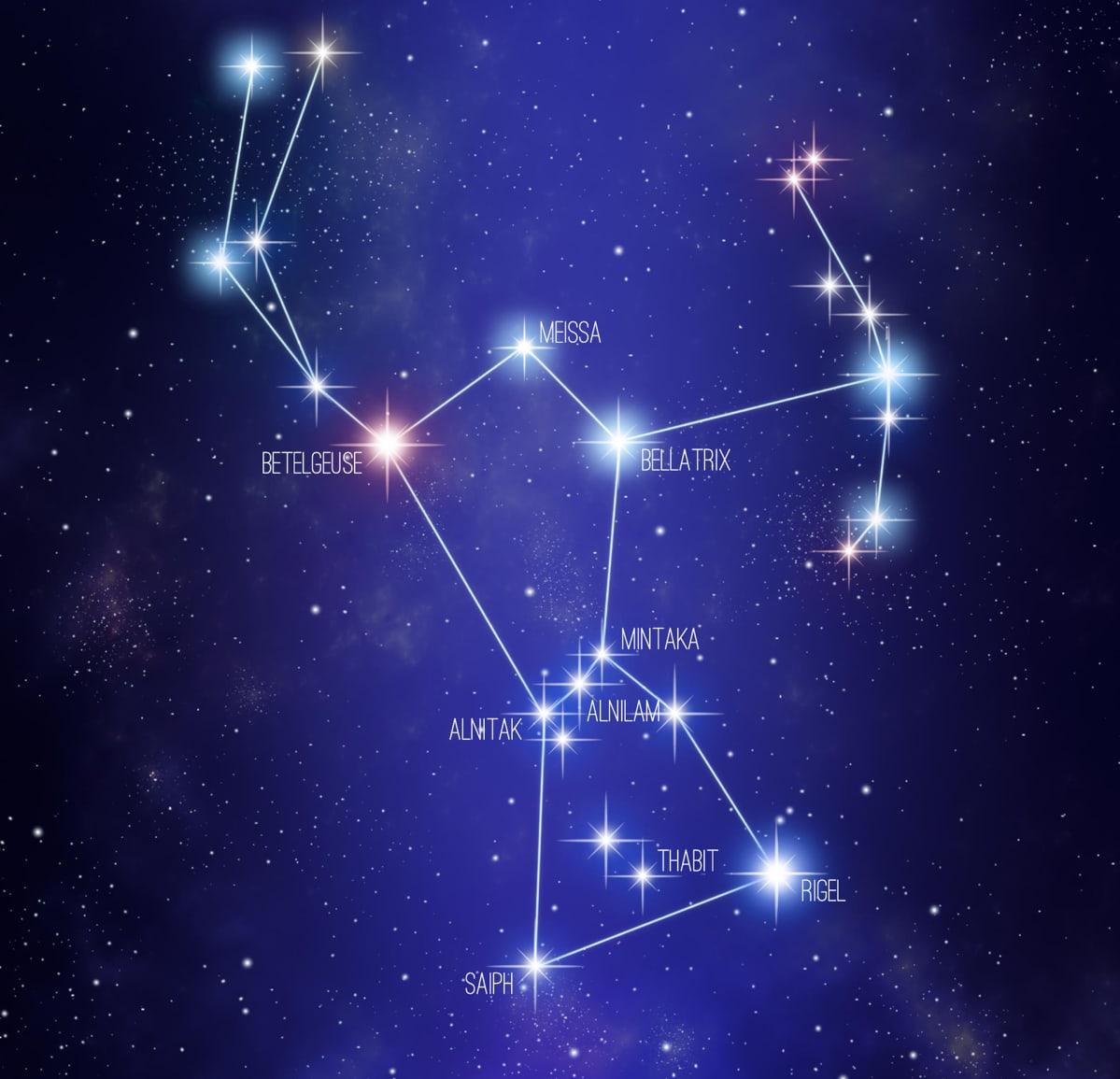 Orionin tähtikuvio