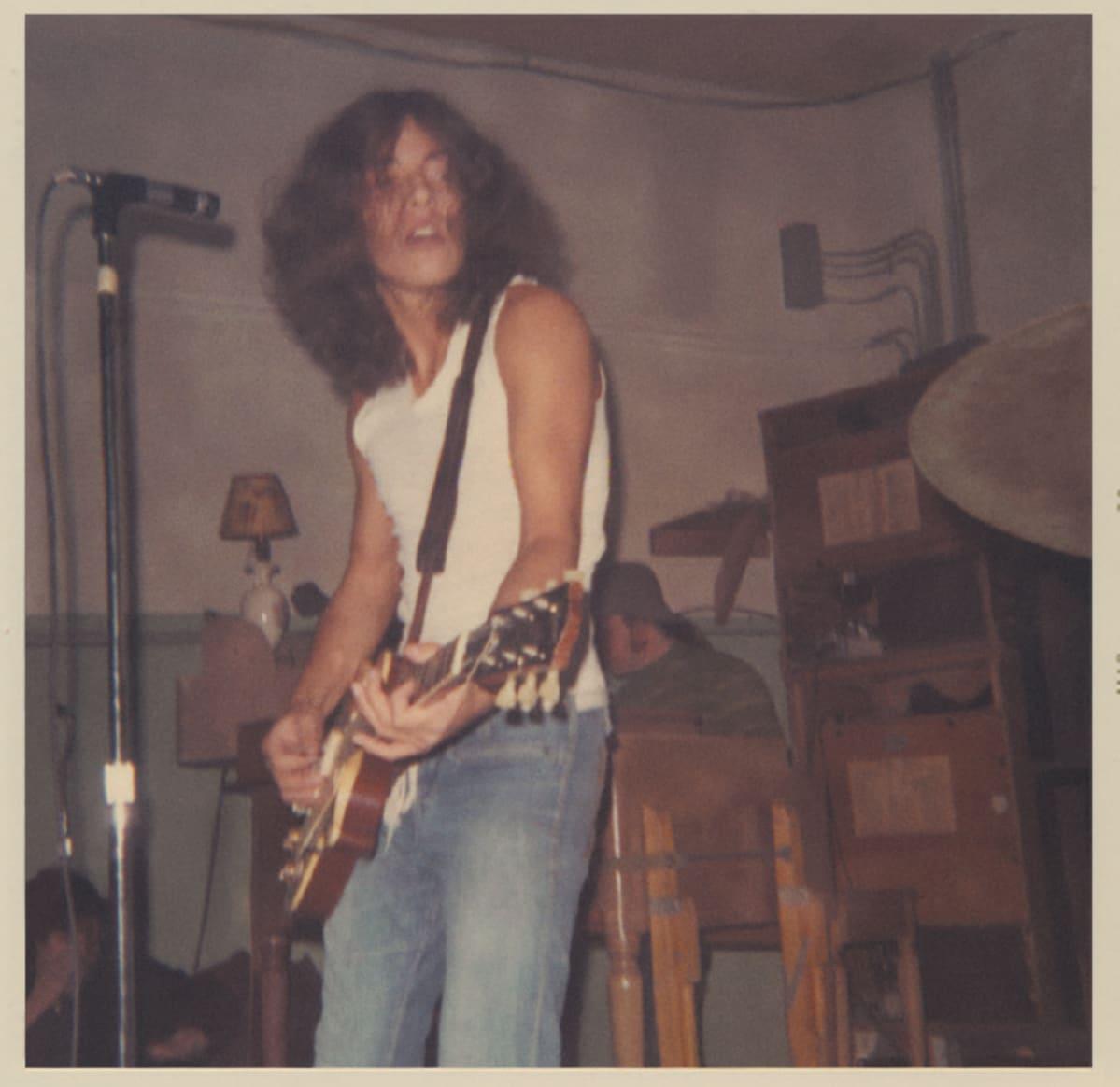 Bruce Springsteen nuorena muusikkona.