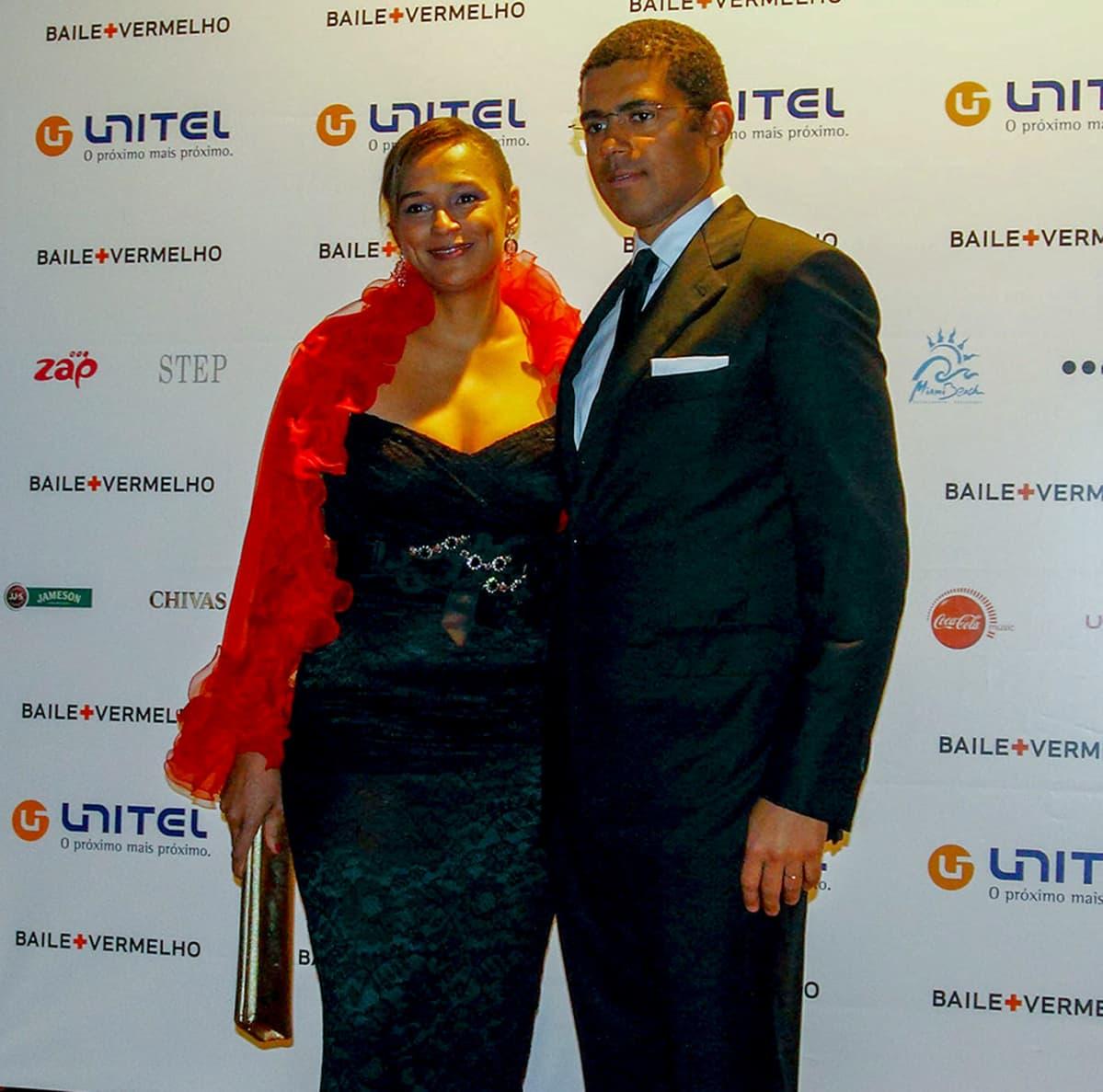 Isabel dos Santos ja Sindika Dokolo