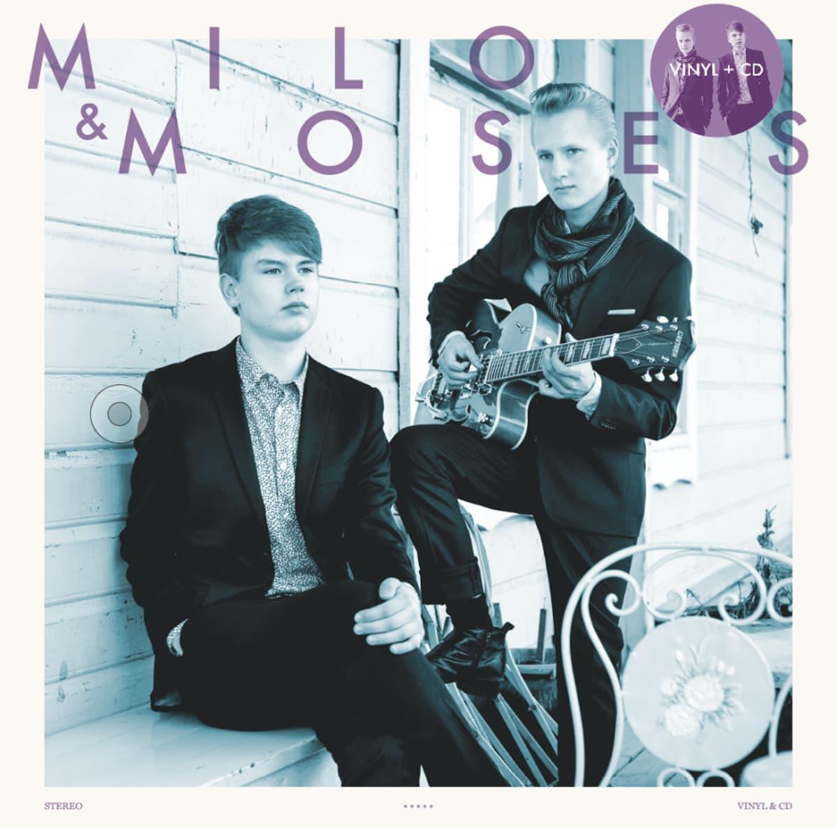 Milo & Moses julkaisevat esikoisalbuminsa perjantaina.