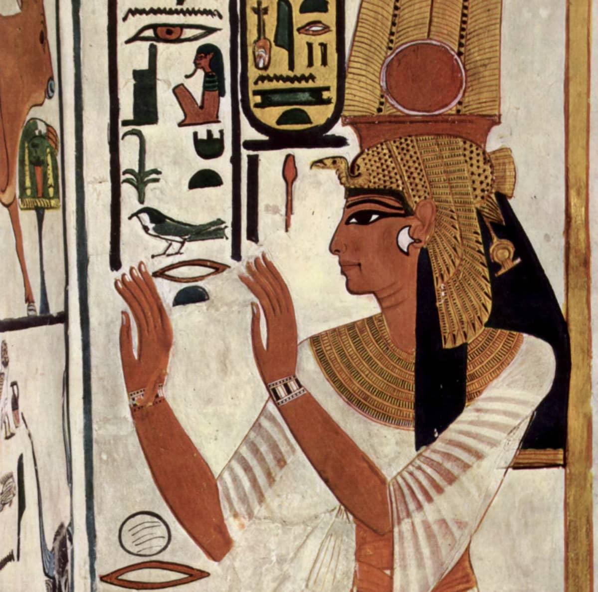 Piirros Nefertarista.