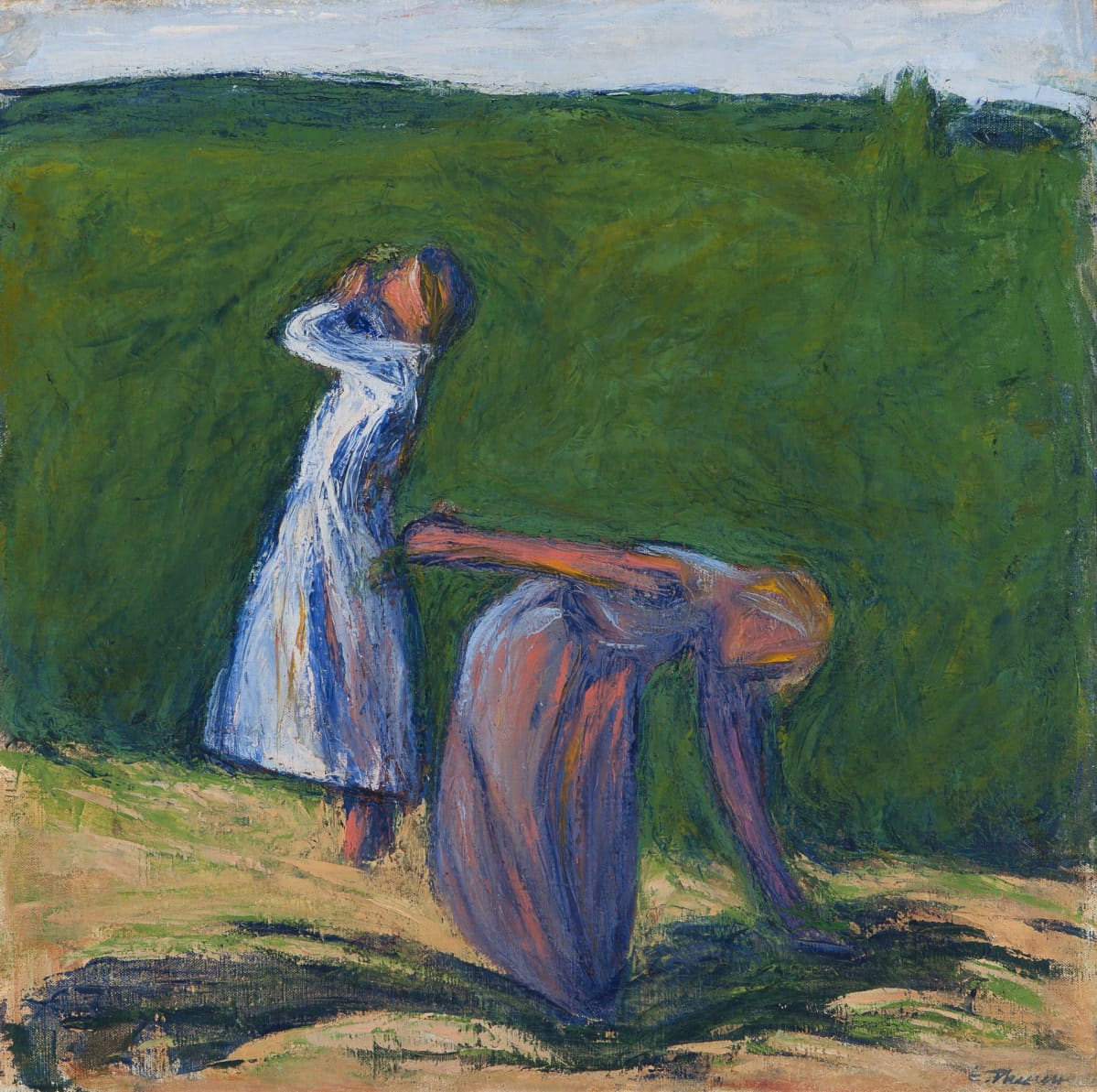 Ellen Theslef,  Tyttöjä