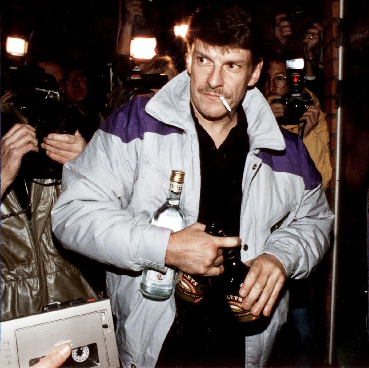 Murhasta epäilty Christer Pettersson 12.10.1998.