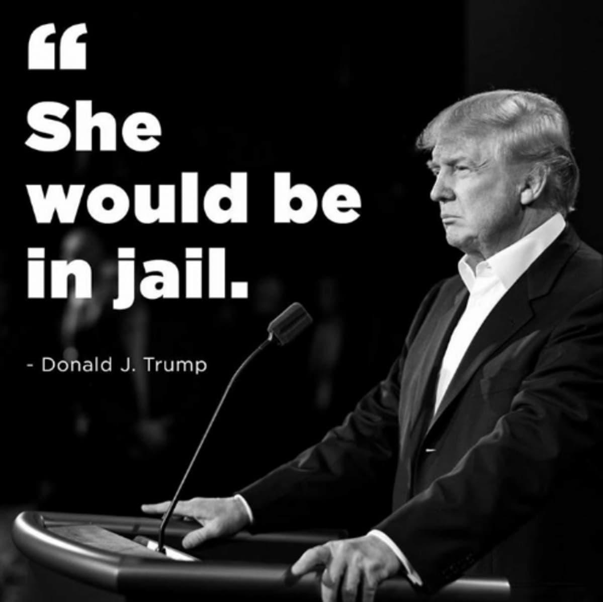 Meemikuva Donald Trumpista.