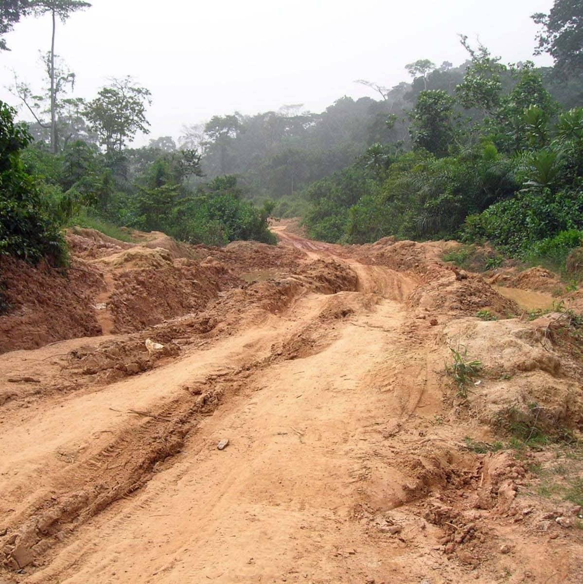 Huono tie Liberiassa
