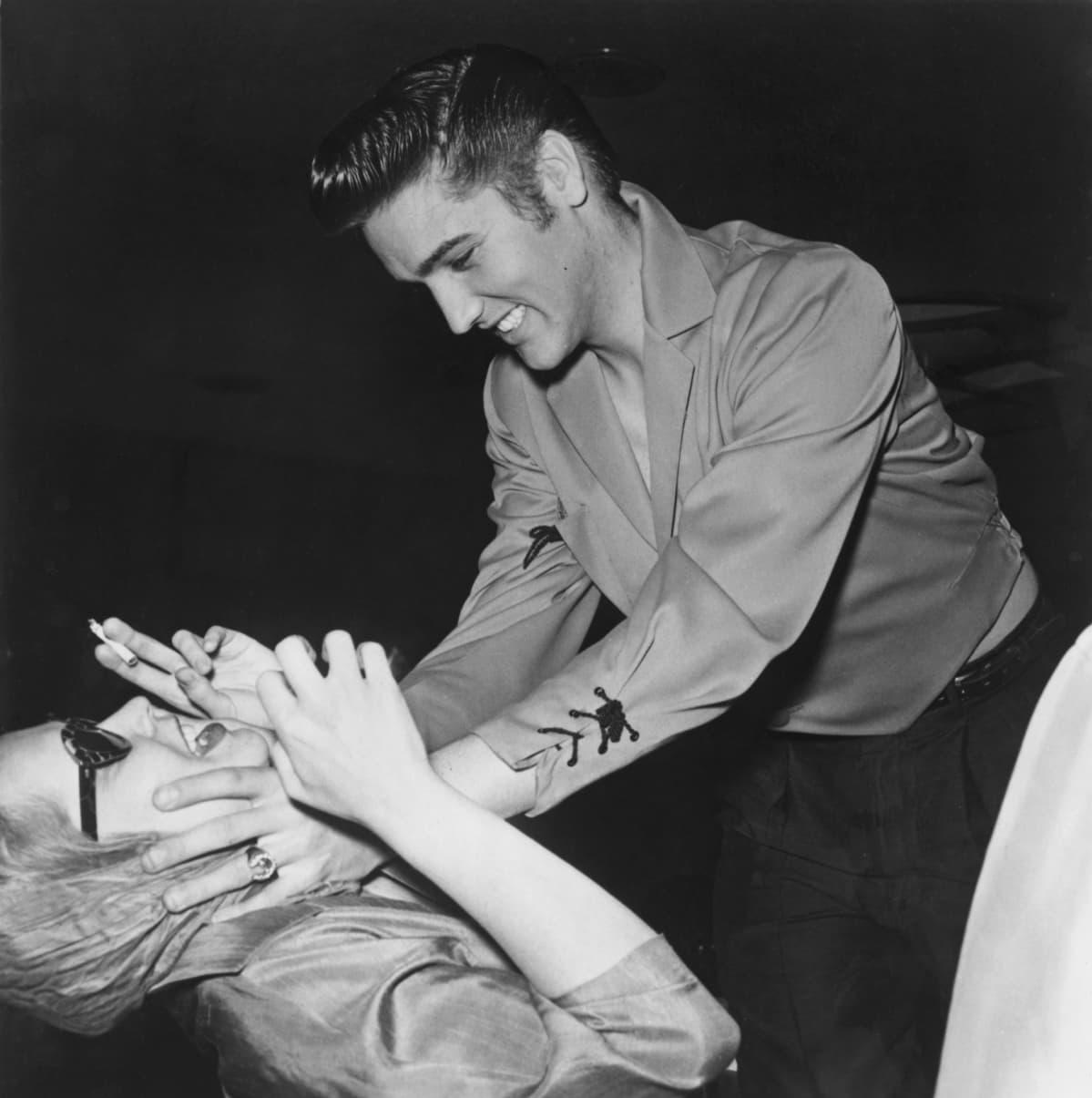 Maila Nurmi ja Elvis