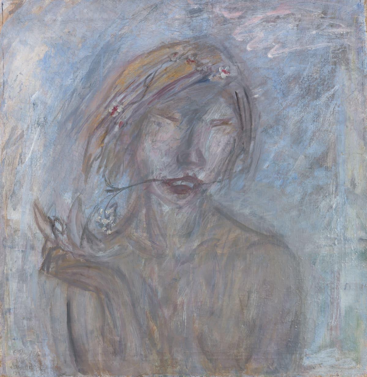 Ellen Thesleff: Kevät (Erämaan tyttö), 1935