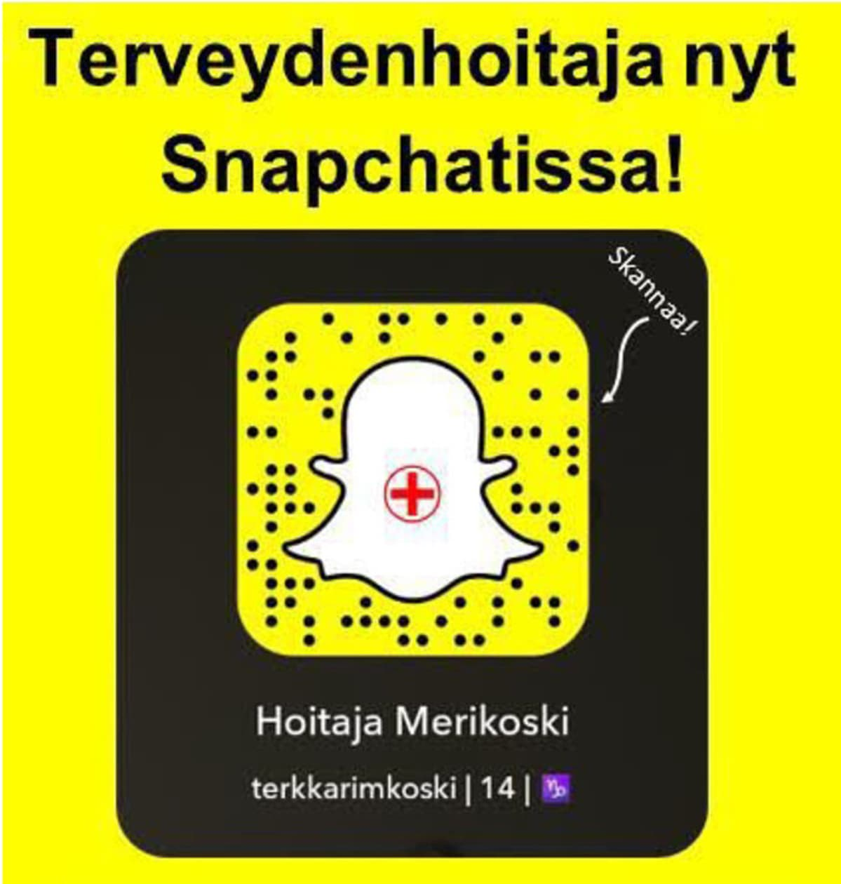 Kuvakaappaus Snapchatista