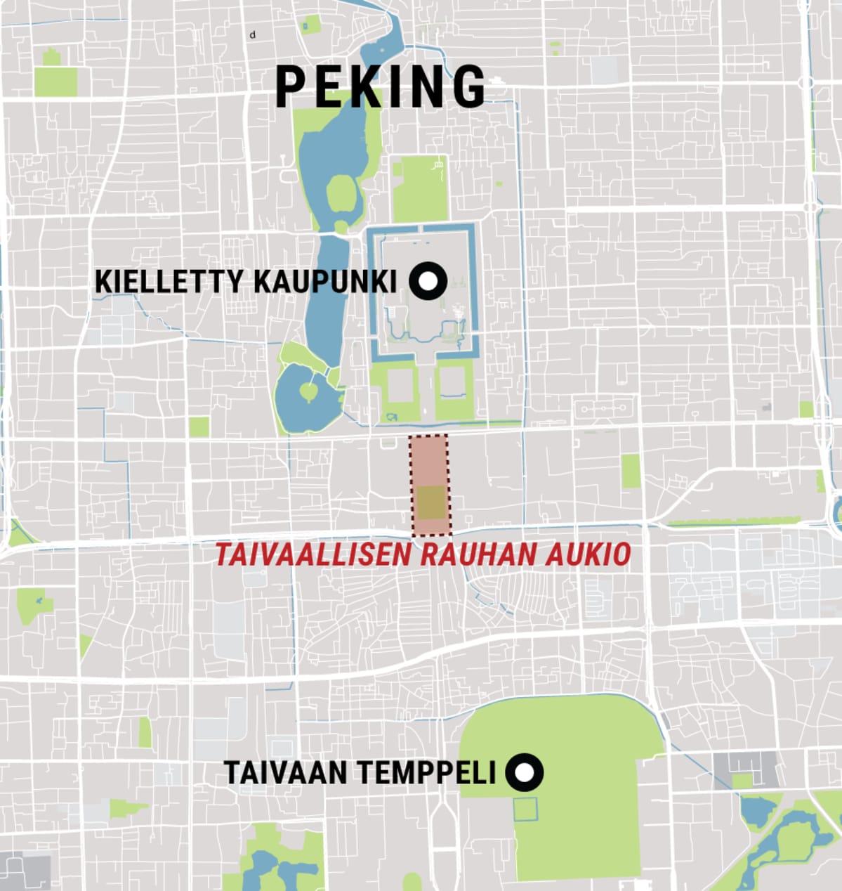 Pekingin kartta