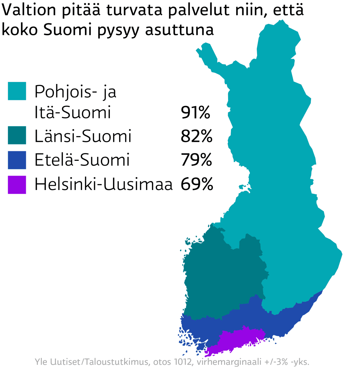 Suomi asuttuna / alueittain / Mediadeski