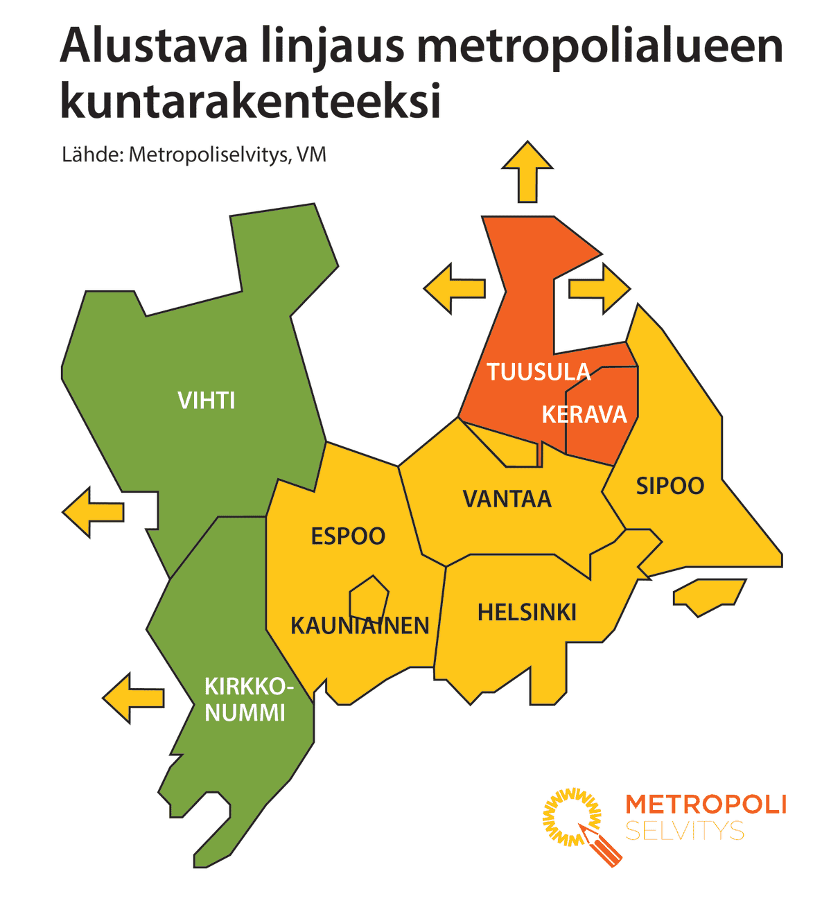 Metropoliselvityksen alue