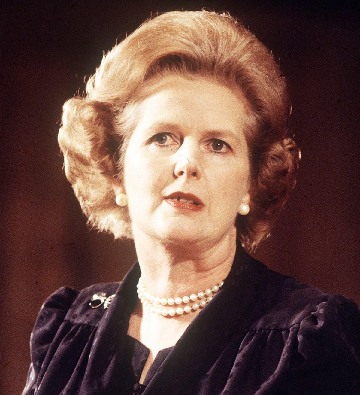 Margaret Thatcher vuonna 1980.