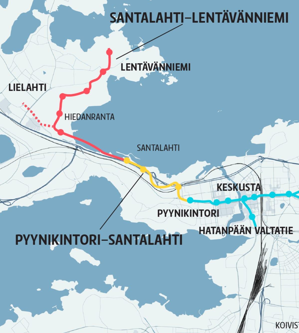 Tampereen ratikka vaihe2