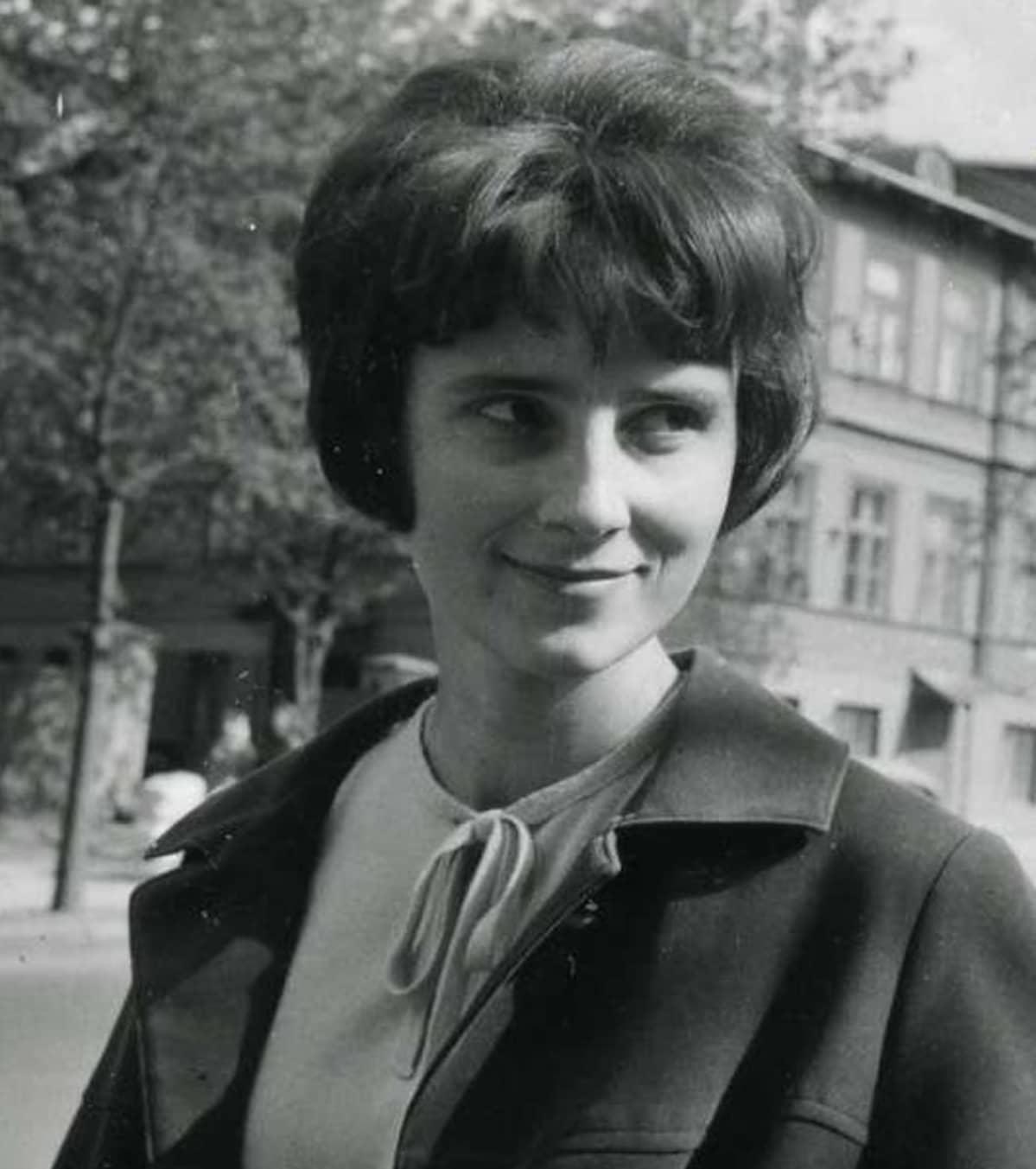 Kulle Raig 25-vuotiaana turistioppaana vuonna 1966.