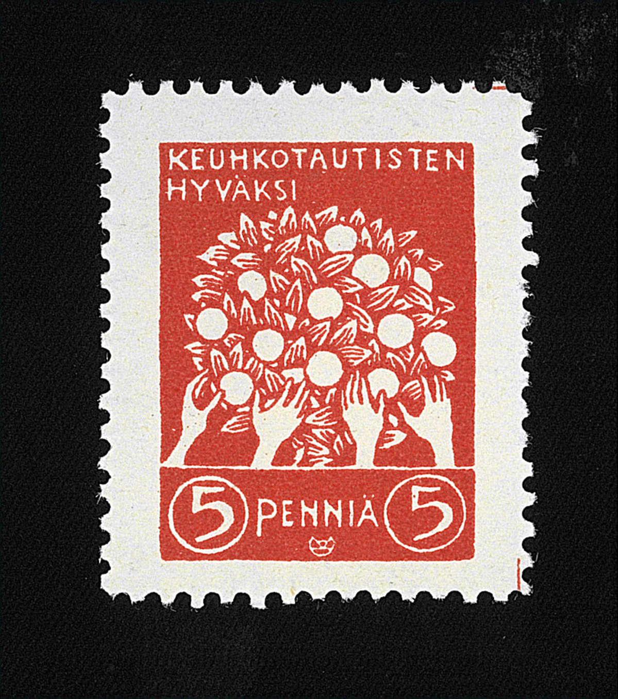 Hyväntekeväisyysmerkki 1908