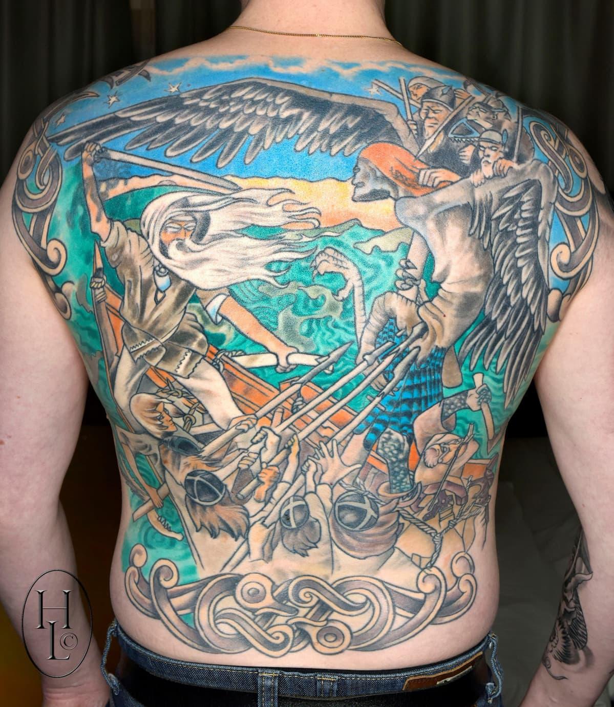 Tatuoitujen taideteosten joukossa suosituimmaksi taiteilijaksi osoittautui Akseli Gallen-Kallela.