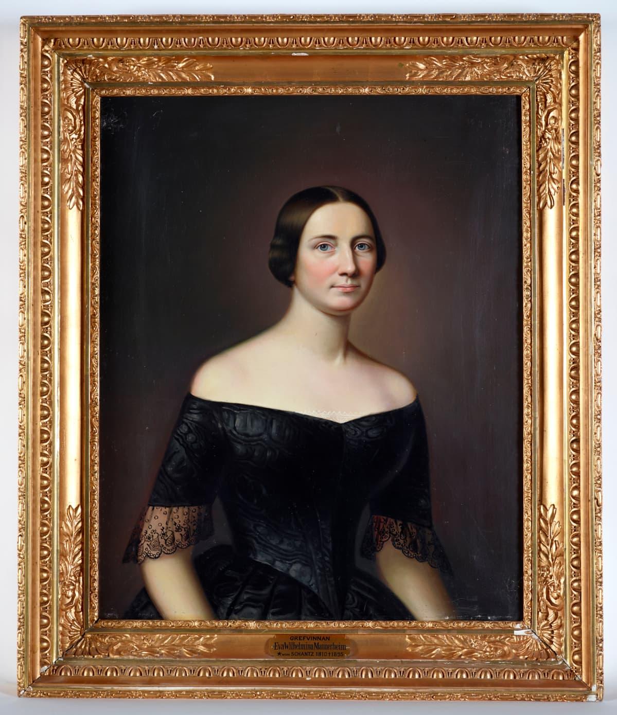 Marsalkka Mannerheimin isoäiti Eva Wilhelmina von Schantz.