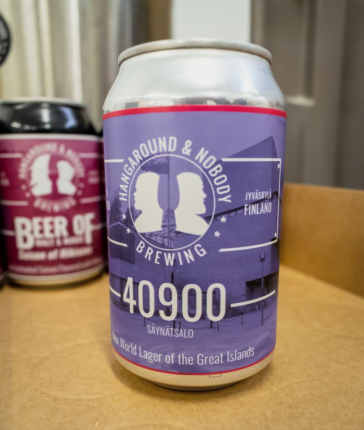 40900 Säynätsalo -oluttölkki.