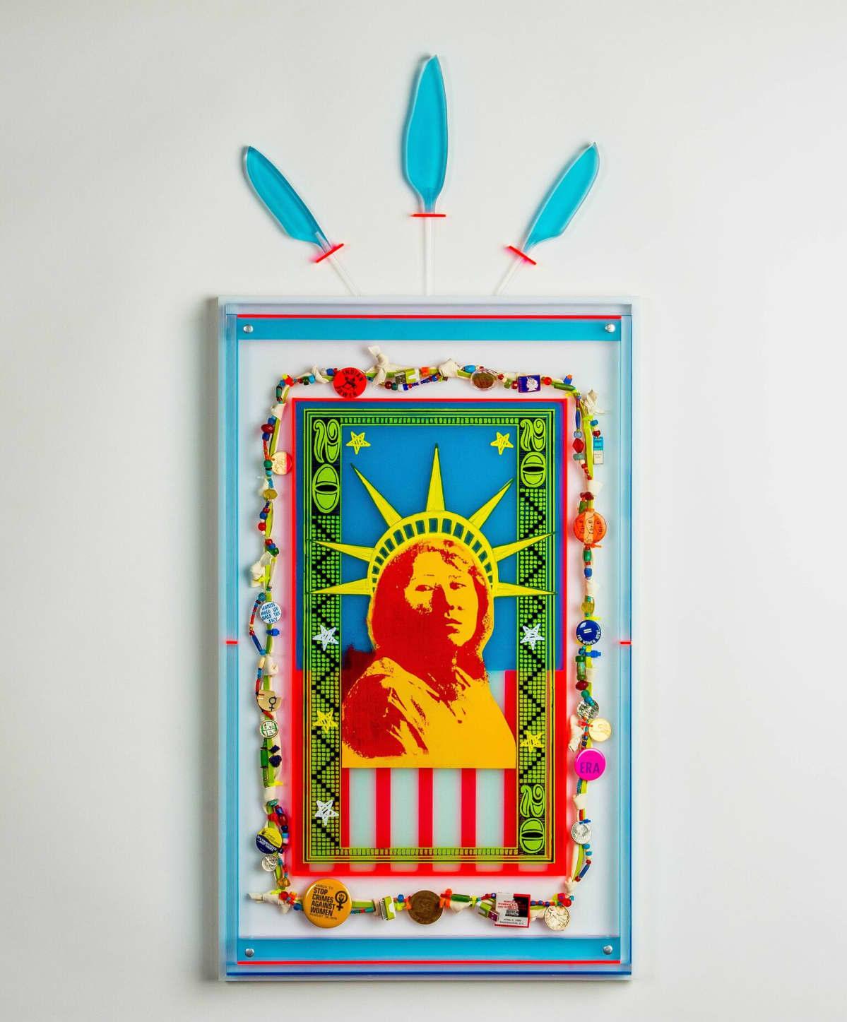 Rebecca Lyon, Counting on Liberty (2016).