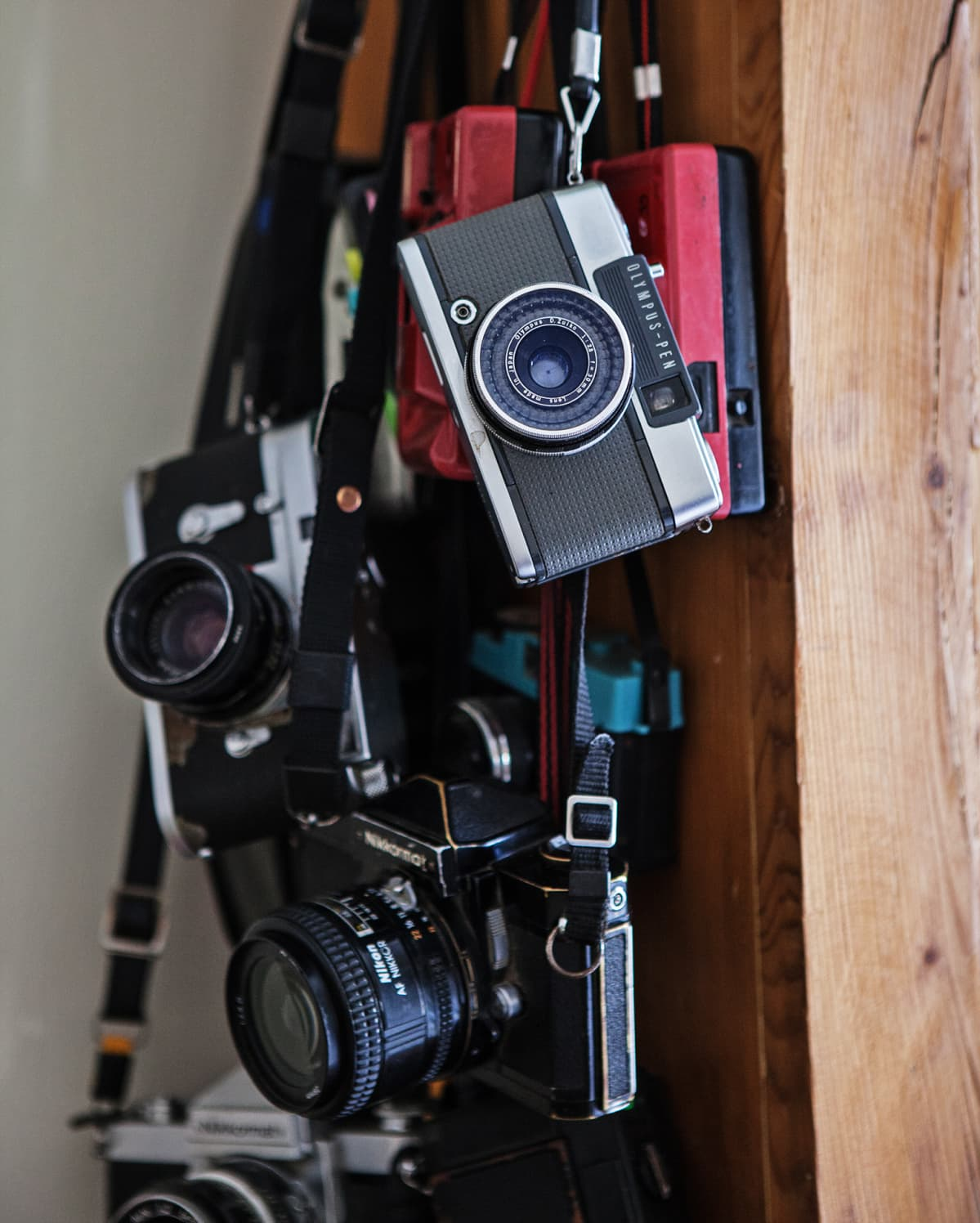 Kameroita.