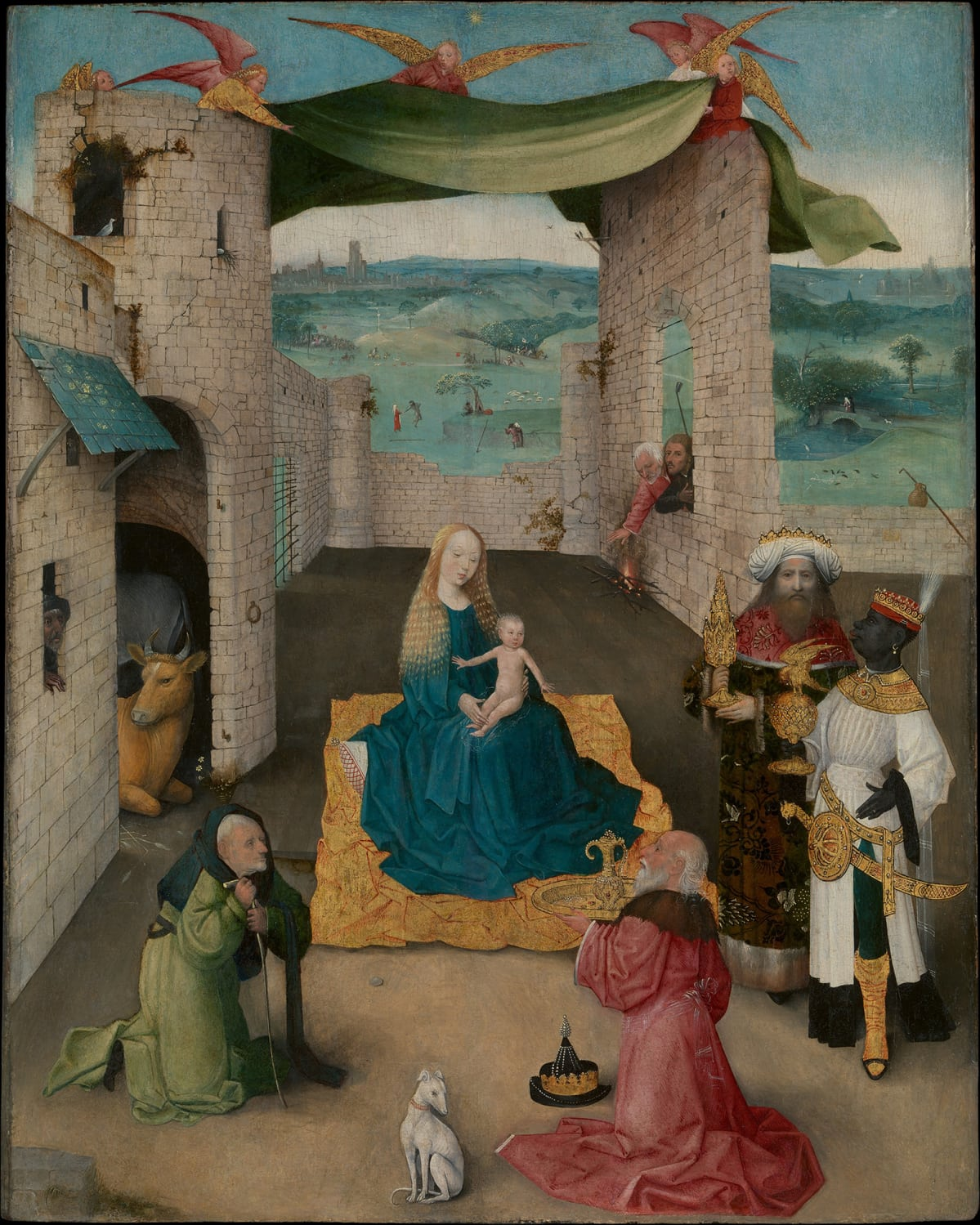 Hieronymus Bosch: The Adoration of the Magi (n. 1475).